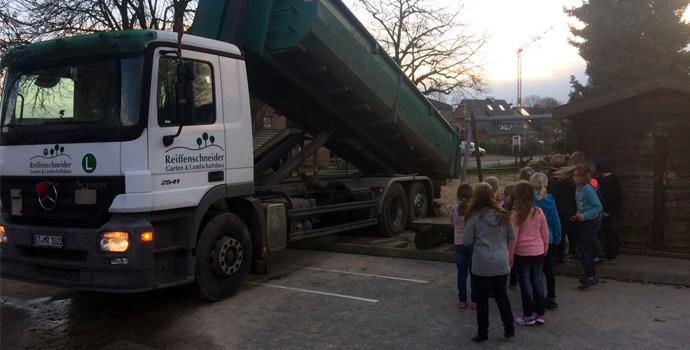 Sandspende-Leeden-Grunschule