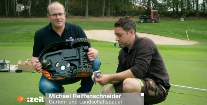 Michael Reiffenschneider Mähroboter Test