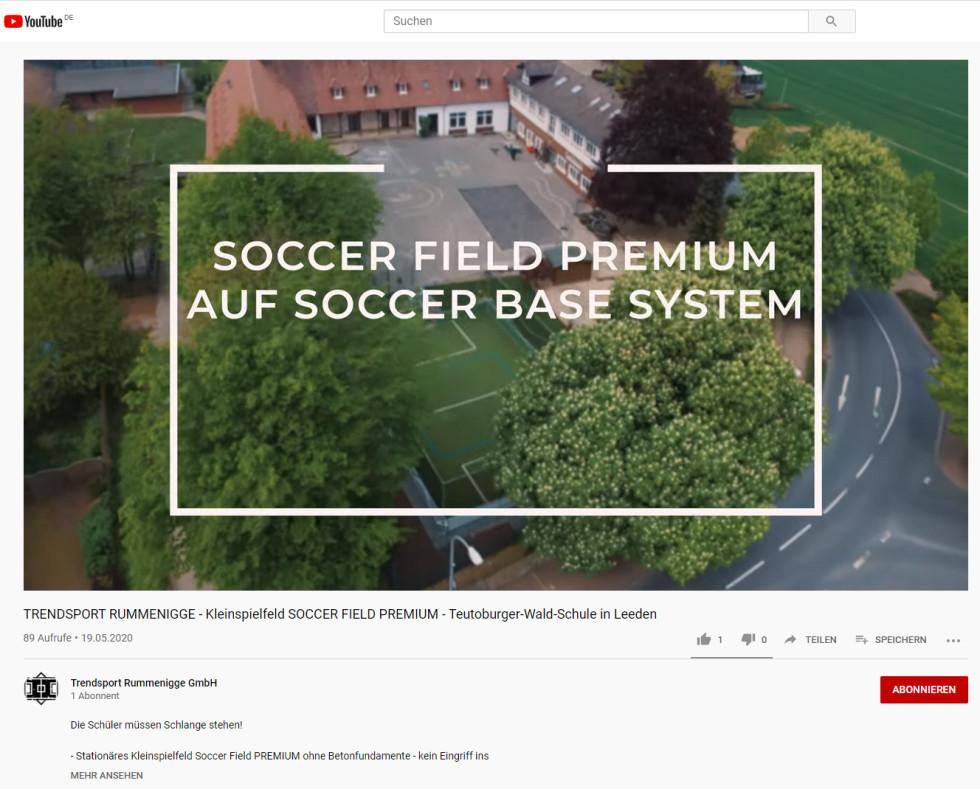 Soccerfeld-Leeden-Video
